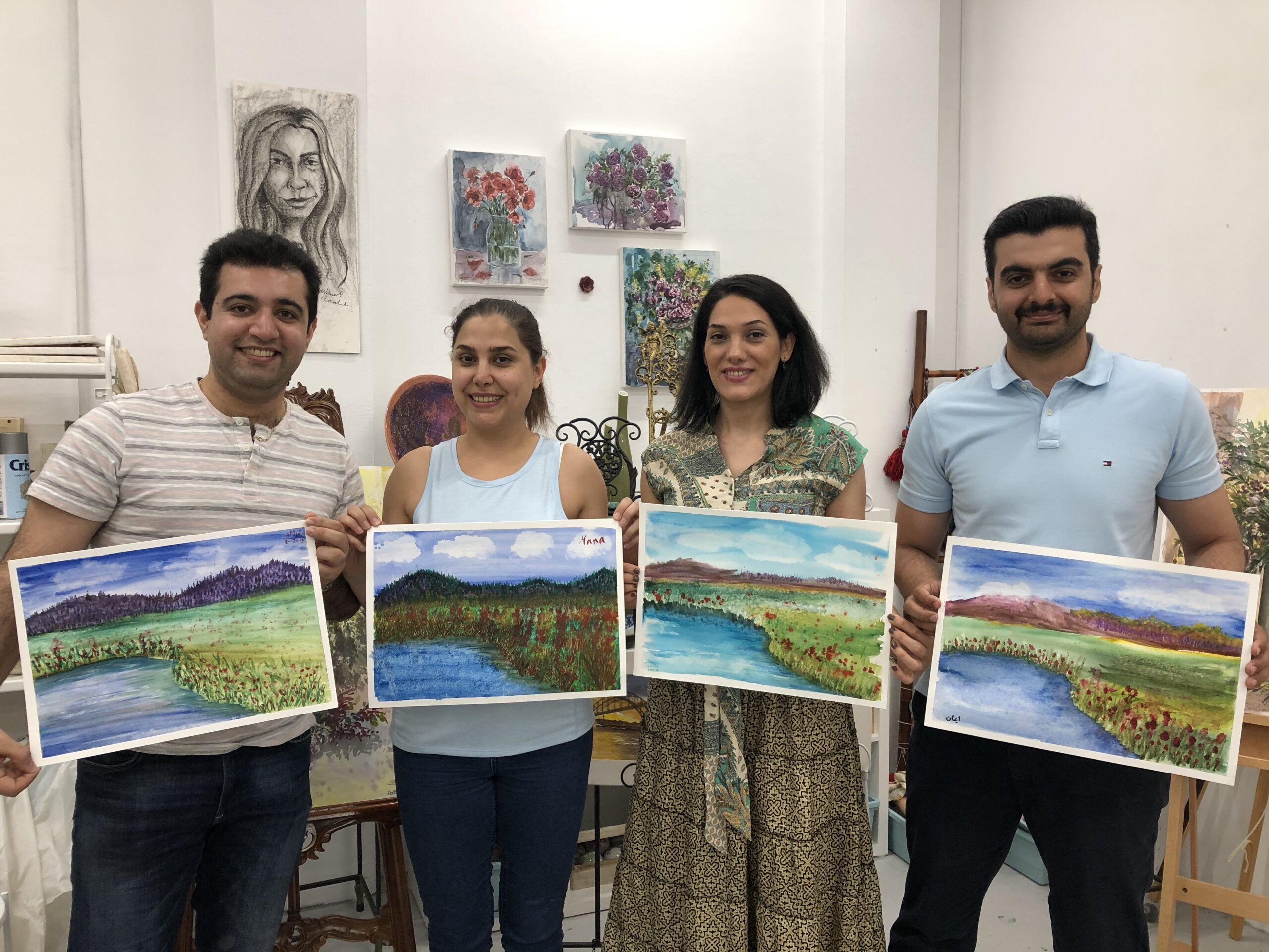 Drawing & painting  classes for Adults