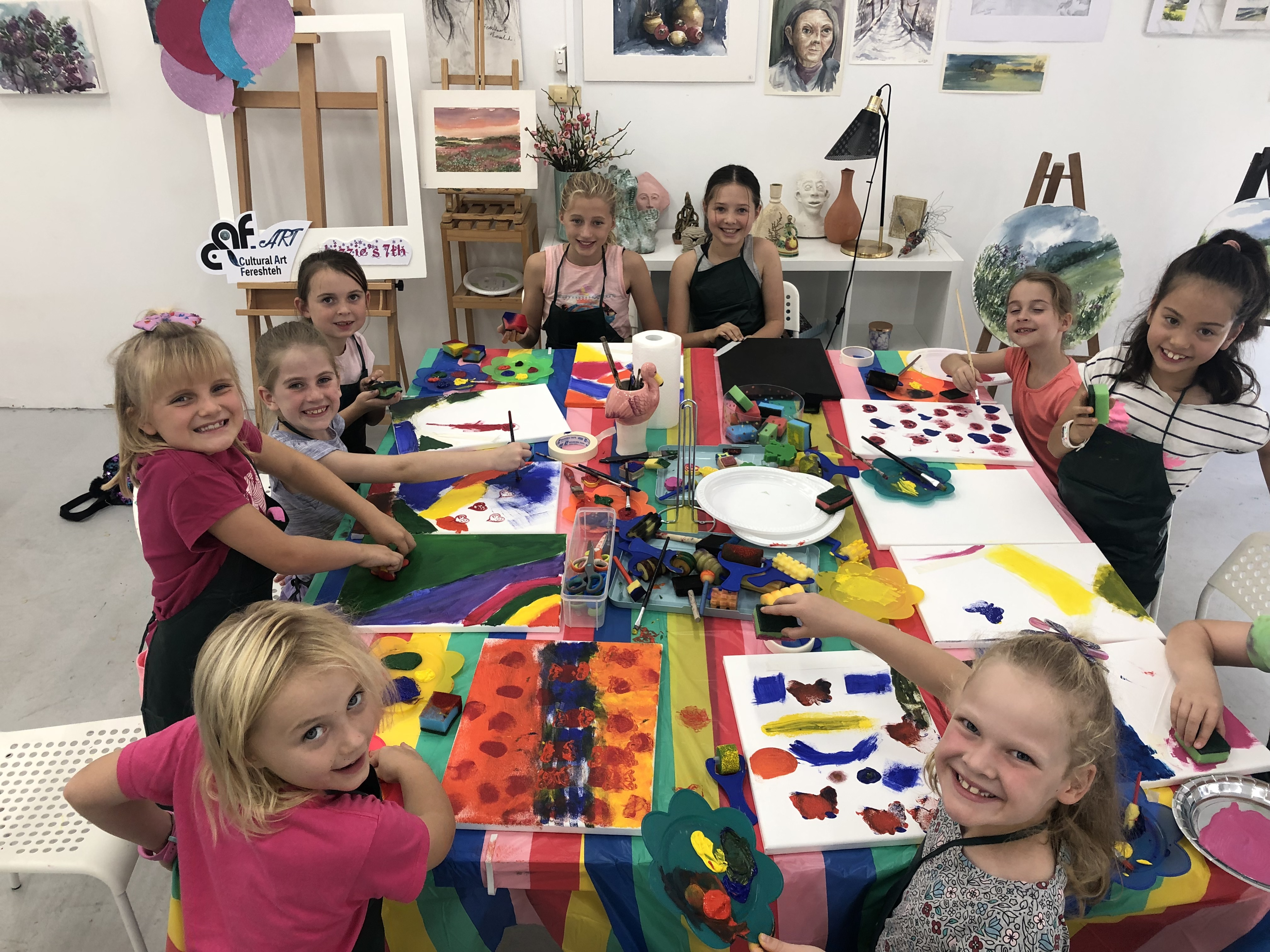 Painting & Sculpture classes for Children
