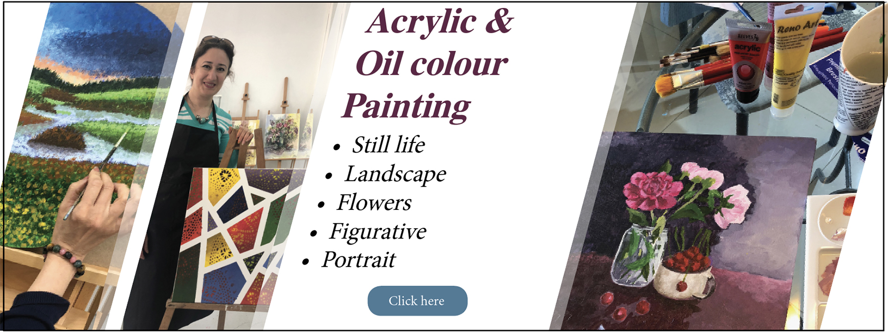 Acrylic & Oil-colour painting